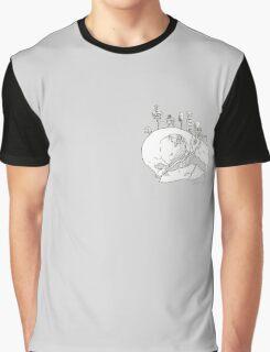 Parrot skull Graphic T-Shirt