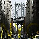 Brooklyn Manhattan Bridge Overpass DUMBO Graphic by Lee Whitmarsh