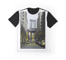 Brooklyn Manhattan Bridge Overpass DUMBO Graphic Graphic T-Shirt