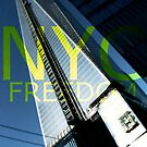 New York Freedom Tower Graphic by Lee Whitmarsh