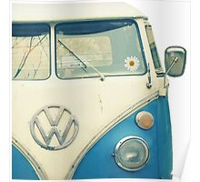 VW Bus Chillin Poster