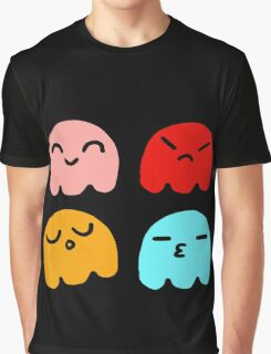 Pacman Ghosts Graphic T-Shirt
