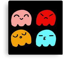 Pacman Ghosts Canvas Print