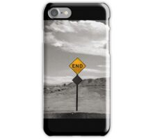 The End of the Road iPhone Case/Skin