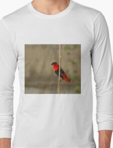 Northern Red Bishop Long Sleeve T-Shirt
