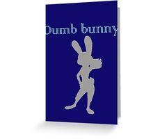 Zootopia / Zootropolis - Judy Hopps Dumb Bunny Greeting Card
