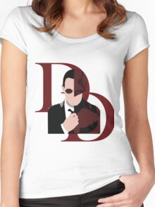 Daredevil! Women's Fitted Scoop T-Shirt