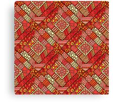 RED FOR BRAVE Canvas Print