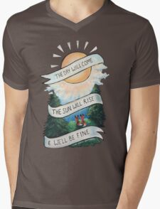 Please Pardon Yourself by the Avett Brothers Design Mens V-Neck T-Shirt