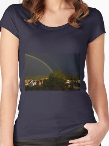 Double Pot O' Gold Women's Fitted Scoop T-Shirt