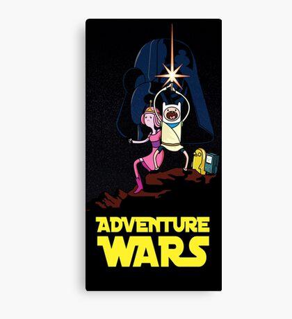 adventure time finn and jake starwars Canvas Print