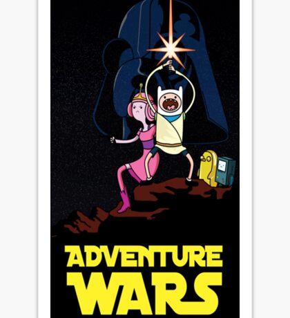 adventure time finn and jake starwars Sticker