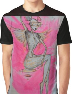 'Caw!' by Christian Asare Graphic T-Shirt