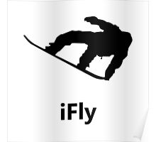 iFly Snowboard Poster
