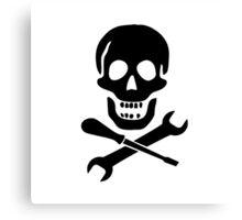 Mechanic Pirate Canvas Print
