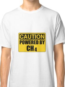 Powered By CH4 Classic T-Shirt
