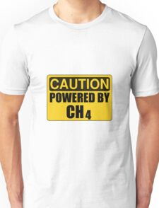 Powered By CH4 Unisex T-Shirt
