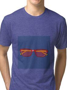Pop Art Glasses Tri-blend T-Shirt