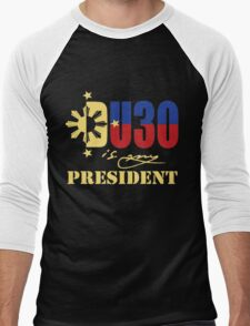 du 30 is my president  Men's Baseball ¾ T-Shirt