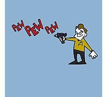 Pew Pew Kirk Photographic Print