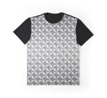 Turned Aluminium pattern Graphic T-Shirt