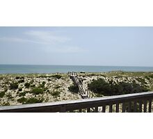 Outer Banks Ocean View Photographic Print