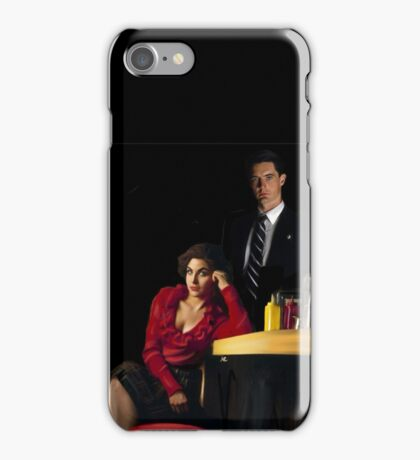 Audrey Horne and her Special Agent. iPhone Case/Skin