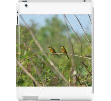 Little Bee-eaters iPad Case/Skin