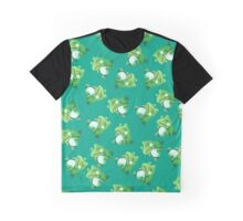 Substitute pattern Graphic T-Shirt