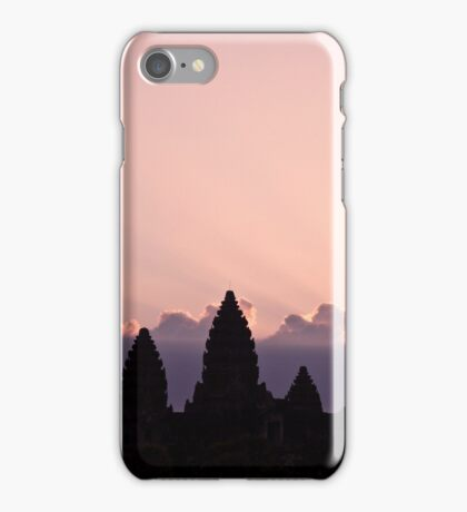 Sunrise @ Angkor Wat iPhone Case/Skin