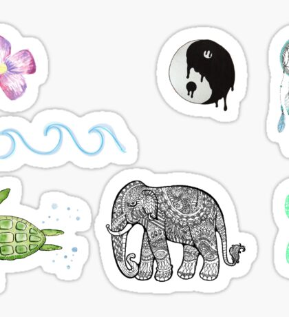 Boho Tumblr Stickers Sticker