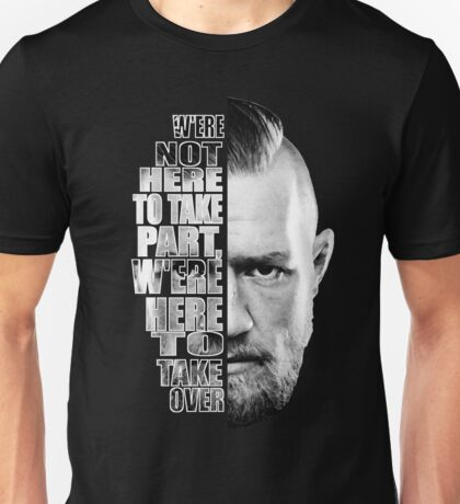 Here to take over plain profile Unisex T-Shirt