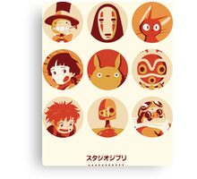 Ghibli Collection Canvas Print