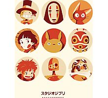 Ghibli Collection Photographic Print