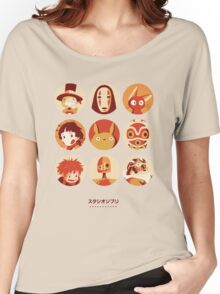 Ghibli Collection Women's Relaxed Fit T-Shirt