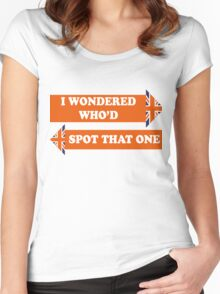 Dad's Army –I Wondered Who'd Spot That One Women's Fitted Scoop T-Shirt