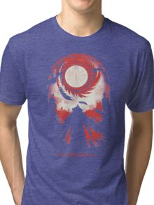 And so the Nightly Hunt begins Tri-blend T-Shirt