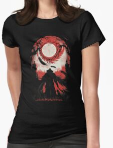 And so the Nightly Hunt begins Womens Fitted T-Shirt