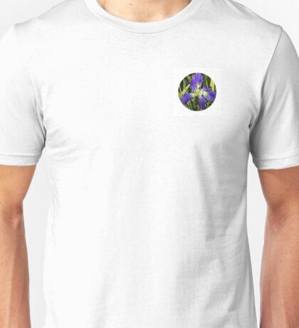 The Eye of a Yellow-Purple Flower Unisex T-Shirt