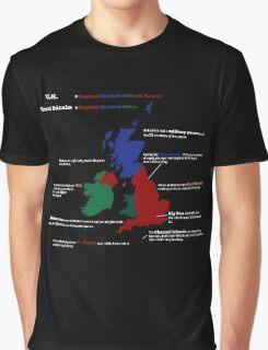 UK infographic Graphic T-Shirt