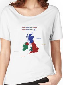 UK infographic Women's Relaxed Fit T-Shirt
