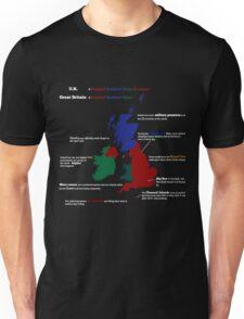 UK infographic Unisex T-Shirt