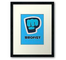 Brofist - Pewdiepie Framed Print