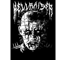 Black Metal Pinhead Photographic Print
