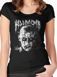 Black Metal Pinhead Women's Fitted Scoop T-Shirt