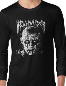 Black Metal Pinhead Long Sleeve T-Shirt