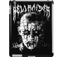 Black Metal Pinhead iPad Case/Skin