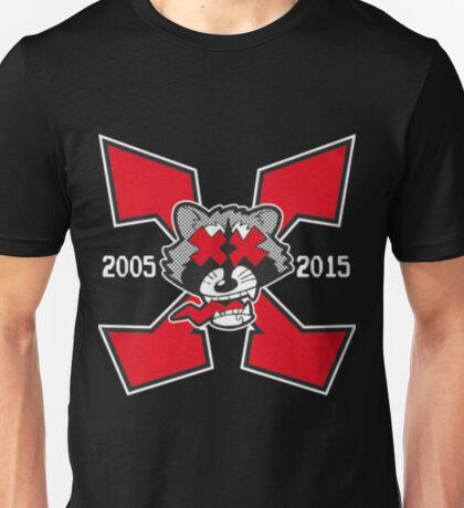Inter Species Wrestling - X! (Black) Unisex T-Shirt