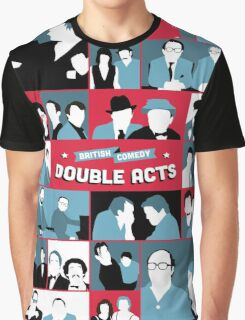 British Comedy Double Acts Graphic T-Shirt