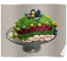 Floral Cake Poster